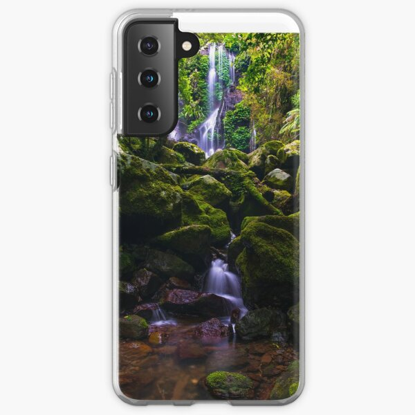 Chalahn Falls Lamington National Park Samsung Galaxy Soft Case