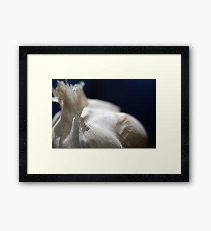 Garlicious Framed Print