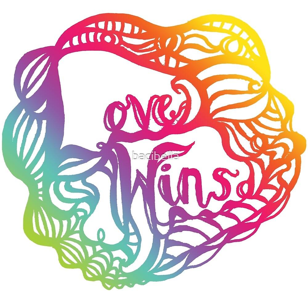 Love Wins Design - Version Three by bacibella