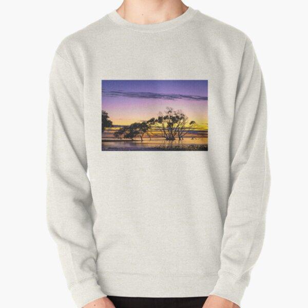 Seaside Sunrise Pullover Sweatshirt