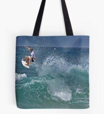 blue air Tote Bag