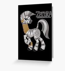Zecora: Friendship is Magic Greeting Card