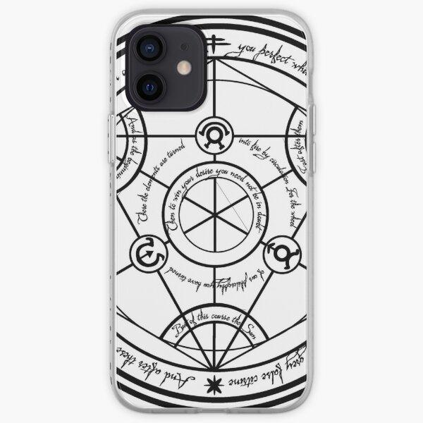 Cercle de transmutation du Fullmetal Alchemist Coque souple iPhone