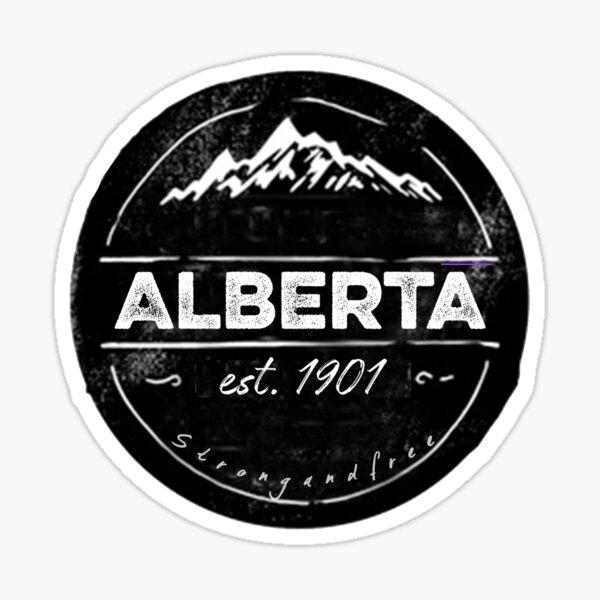 Alberta Emblem Sticker