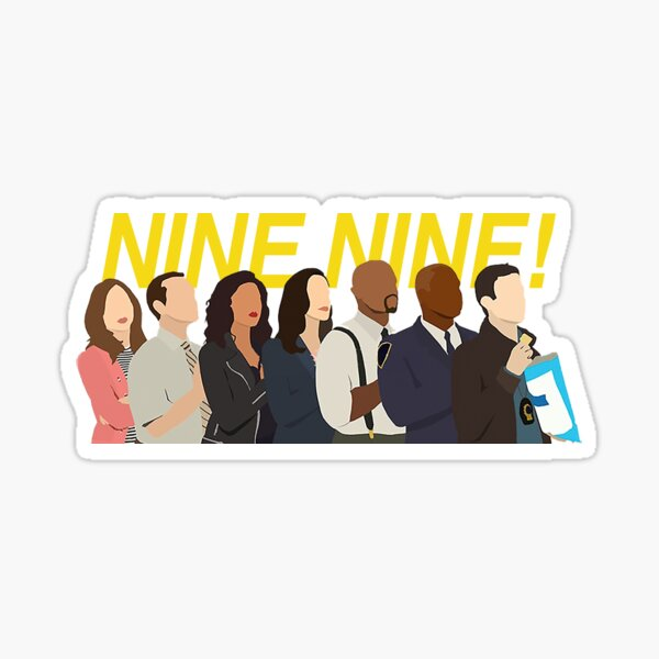 nine nine squad Sticker