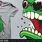 Scrambled Egg T-Shirt by seventhfury