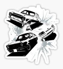 Escort Three Sticker