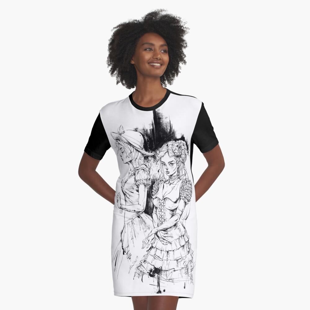 Ninfología Tadeush Vestido camiseta