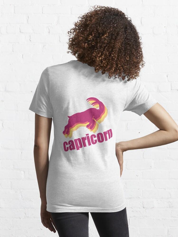 Alternate view of Capricorn Essential T-Shirt