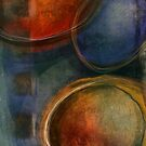 Abstracts Orbs 2 by Annette Kraus