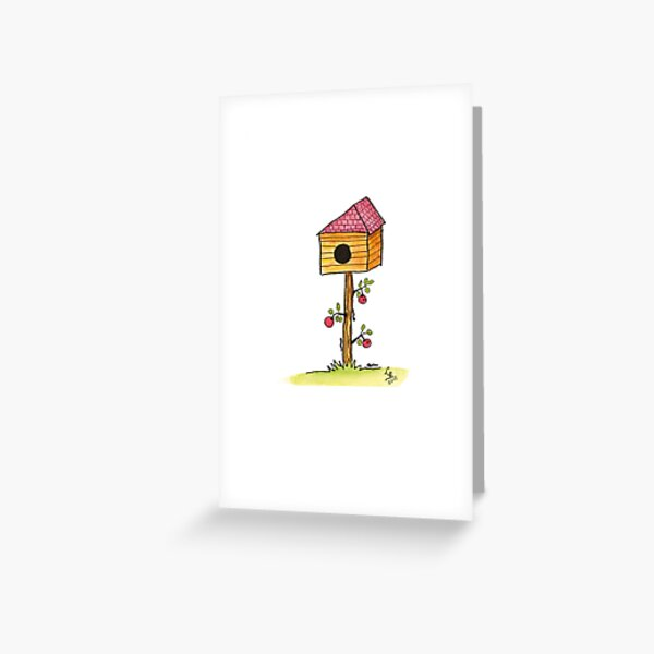 Letterbox with Apples Greeting Card