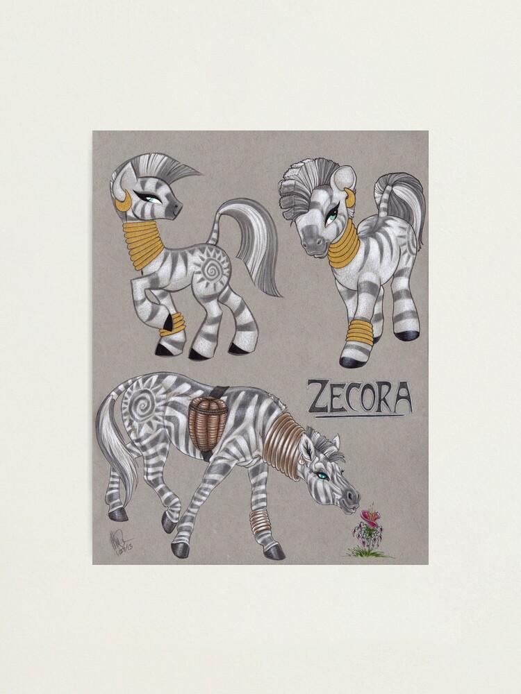Alternate view of Zecora Doodles Photographic Print