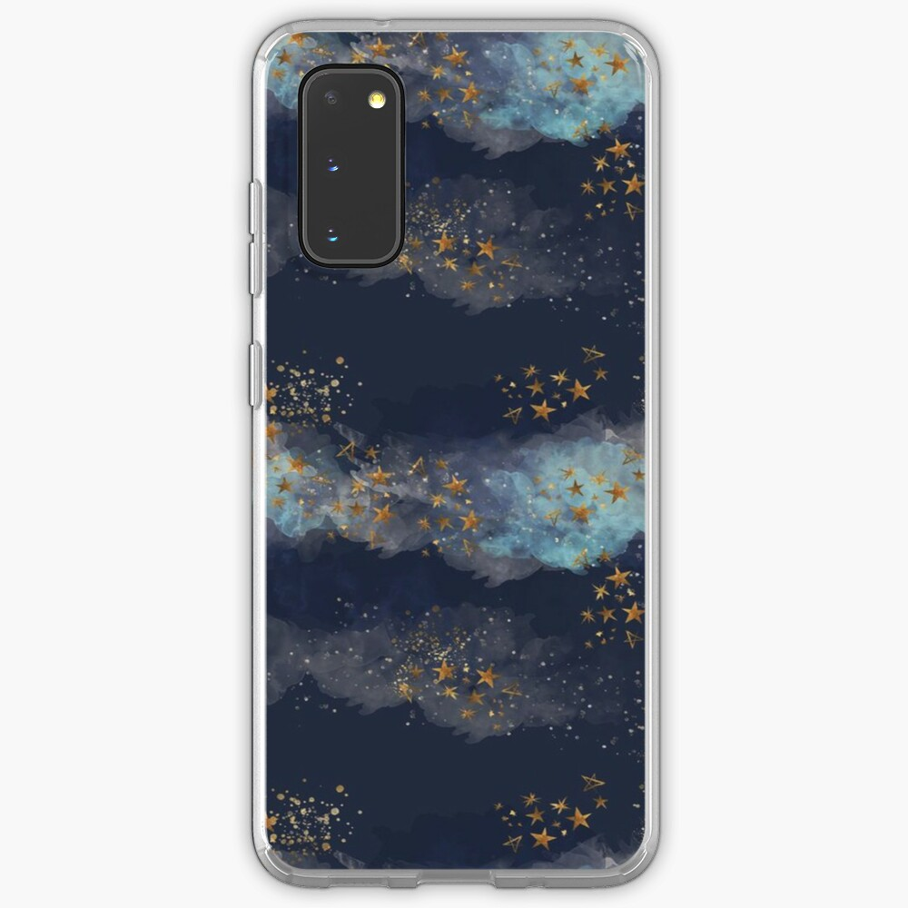 Night Sky & Stars - Iphone & Samsung Galaxy Cases Case & Skin for Samsung Galaxy