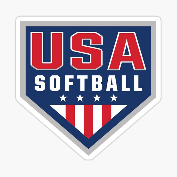 USA Softball Logo! Sticker