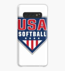USA Softball Logo! Case/Skin for Samsung Galaxy