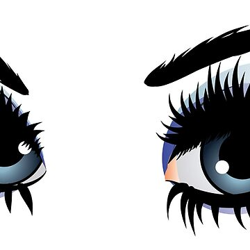 Eyes with make up by AnnArtshock