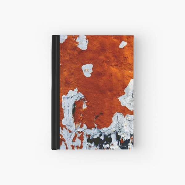 Confusion of Burnt Sienna Hardcover Journal