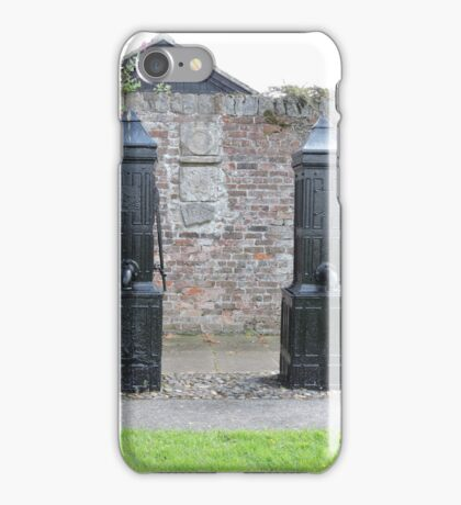 Historic Water Pumps iPhone Case/Skin