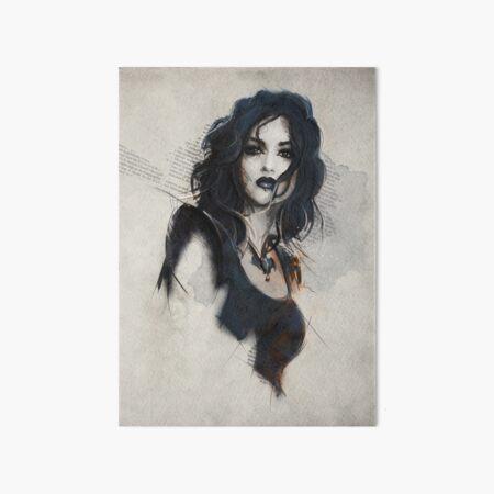 Vampire Queen Art Board Print