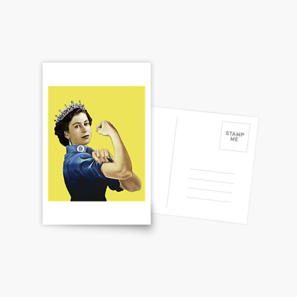 Lizzie the Riveter Postcard