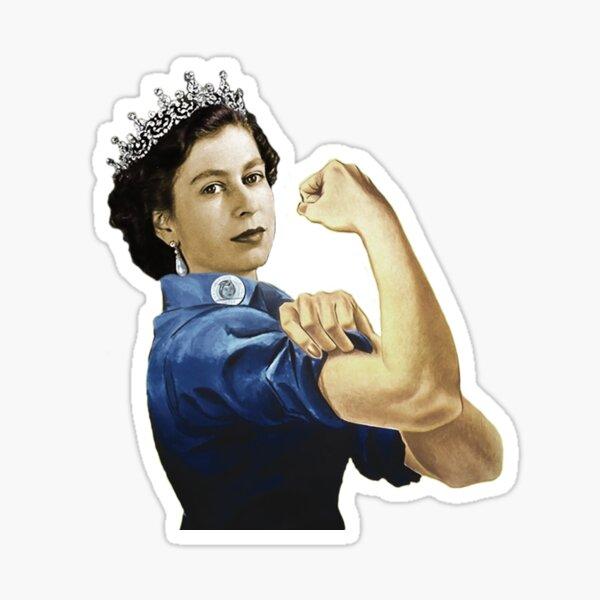 Lizzie la riveteuse Sticker