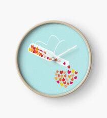 A Bottle of Love Clock
