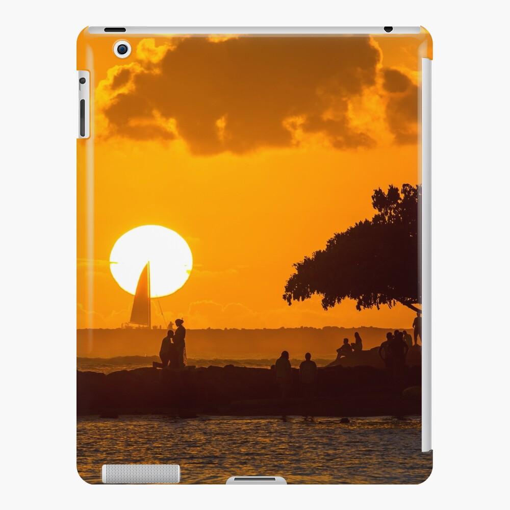 Sunset Love Funda y vinilo para iPad
