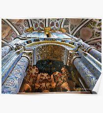 Charola do Convento de Cristo Poster