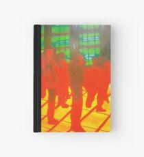 Red and Yellow Inferno Dancefloor Hardcover Journal