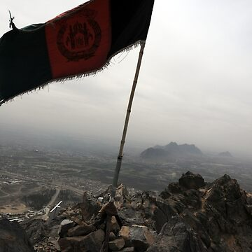 Above Afghanistan  by deepcp