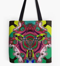 The fractal fly Tote Bag