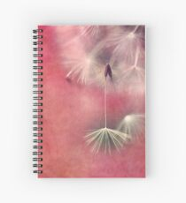 Don't be afraid to let go Spiral Notebook