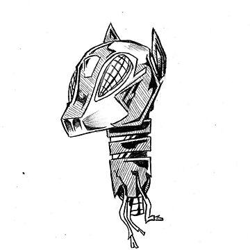 robo pup_monochromatic  by KaHNkane