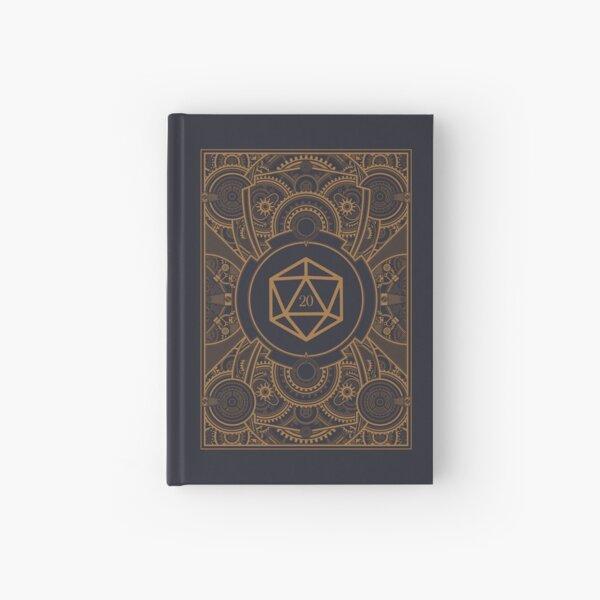 D20 Dice Steampunk Mech Hardcover Journal