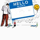 Hello my name is...(Blue) by TurkeysDesign