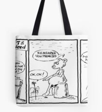 Life with Figit and the Weed. #11 (The Bucket)  Tote Bag