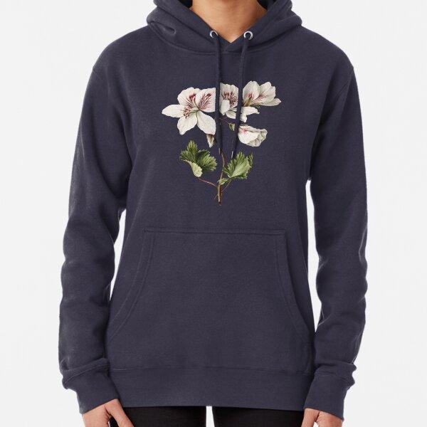 Vintage illustration of Branch of Azaleas in bloom Pullover Hoodie
