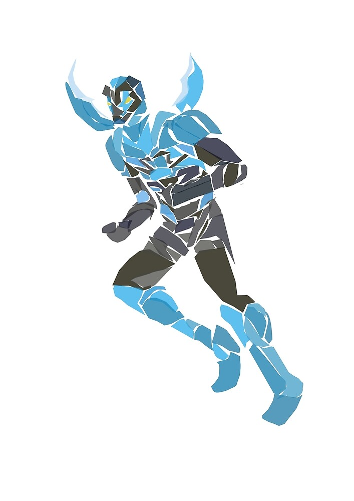 Blue beetle (Jaime Reyes) by newtegan