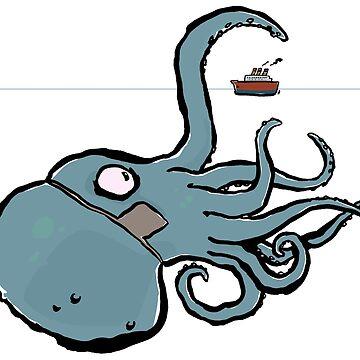 kraken by greendeer