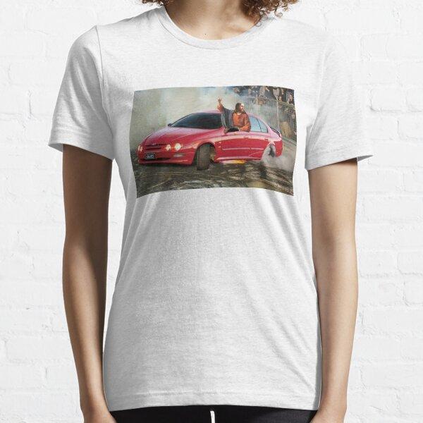 AU Falcon Burnout Essential T-Shirt