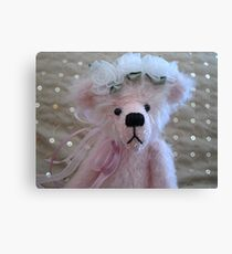 Posy by Wee Darlin Bears Canvas Print