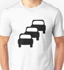 Traffic Queues Likely Sign T-Shirt