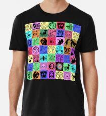GRAPHIC ART SYMBOLS Men's Premium T-Shirt