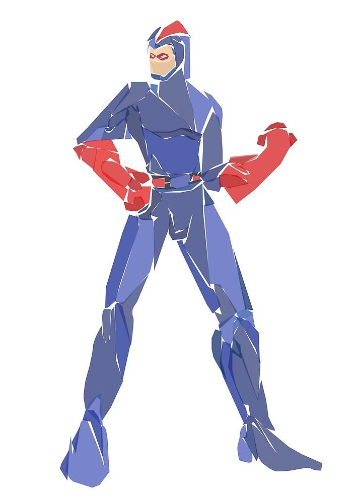 Blue beetle (Dan Garrett) by newtegan