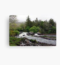 Bundorragha River Ireland Canvas Print