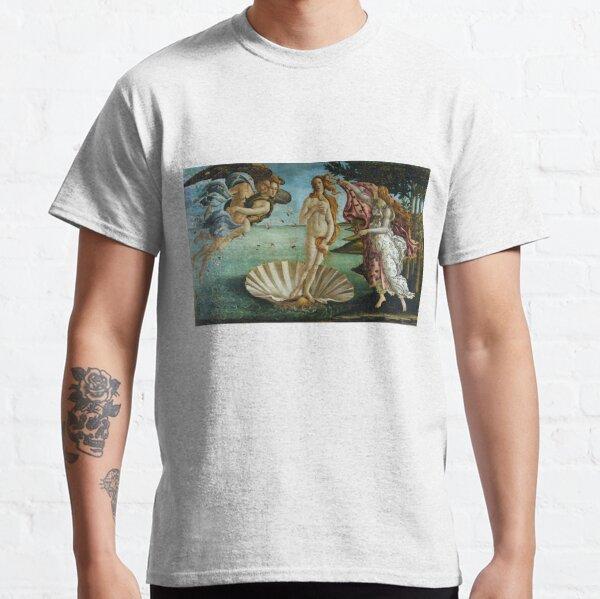 The Birth of Venus by Sandro Botticelli (1486) Classic T-Shirt