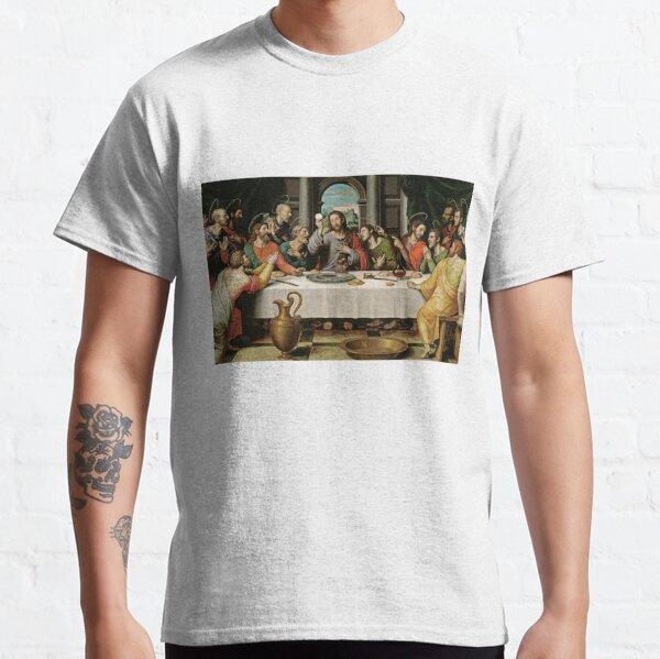 The Last Supper (Ultima Cena) by Joan de Joanes (c. 1562) Classic T-Shirt