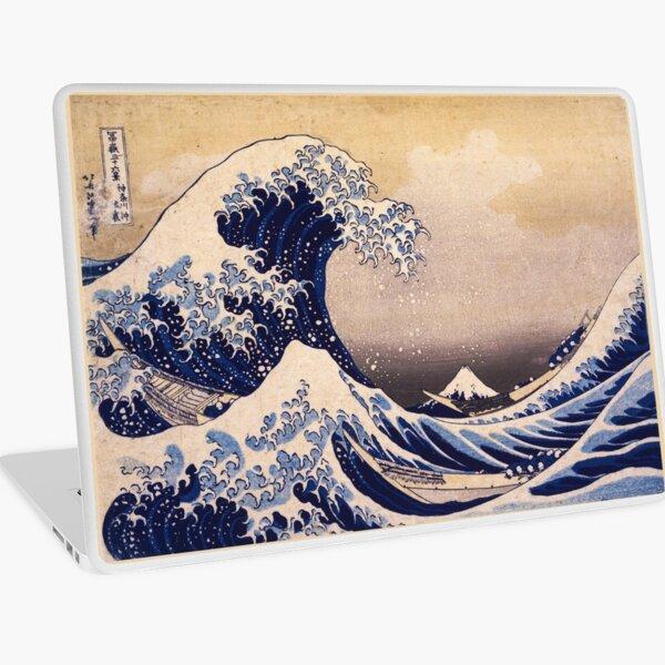 The Great Wave off Kanagawa by Katsushika Hokusai (c 1830-1833) Laptop Skin