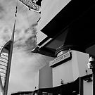Spinnaker Tower & Dockyard Crane, Portsmouth by John Callaway