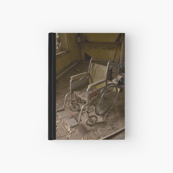 Child's Wheelchair Hardcover Journal